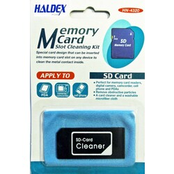 Halloa HN4320 SD Memory Card Slot Cleaner
