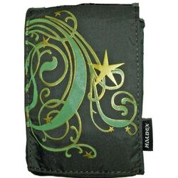 LM100MN GREEN NYLON COMPACT POUCH