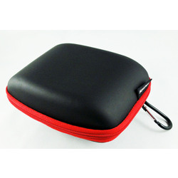 "Semi Hard GPS 4.3"" Case with red trim"