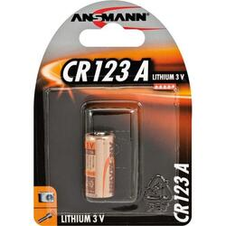 Ansmann CR123A 3V 1500mAh Battery