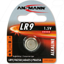 Ansmann PX625 Button Battery (LR9)