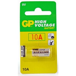 GP10A 9V Alkaline Battery Single