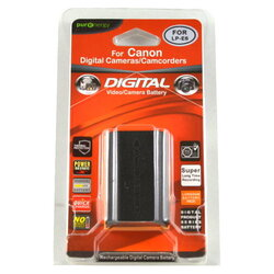 PurEnergy Canon LP-E6 Replacement Battery