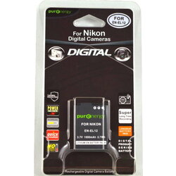 PurEnergy Nikon  EN-EL12 Replacement Battery