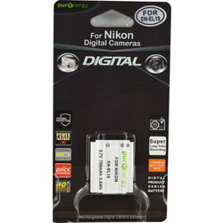 PurEnergy Nikon EN-EL19 Replacement Battery