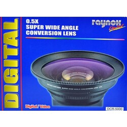 Raynox DCR5000 0.5 Super Wide Angle Lens