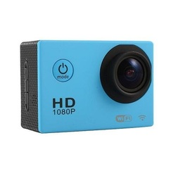 Action Cam with WiFi and 30M Housing Blue
