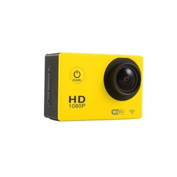 Action Cam with WiFi and 30M Housing Yellow