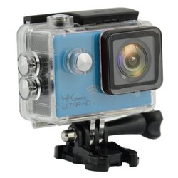 ActionCam Real 4K @ 24 fps Wi-Fi 30M Waterproof Blue