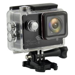 ActionCam Real 4K @ 24 fps Wi-Fi 30M Waterproof Black