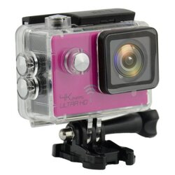 ActionCam Real 4K @ 24 fps Wi-Fi 30M Waterproof Pink