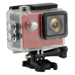 ActionCam Real 4K @ 24 fps Wi-Fi 30M Waterproof Red