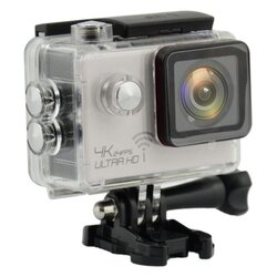 ActionCam Real 4K @ 24 fps Wi-Fi 30M Waterproof Silver
