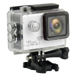 ActionCam Real 4K @ 24 fps Wi-Fi 30M Waterproof White
