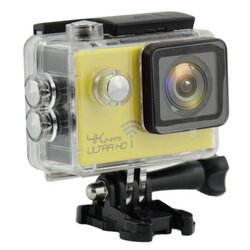 ActionCam Real 4K @ 24 fps Wi-Fi 30M Waterproof Yellow
