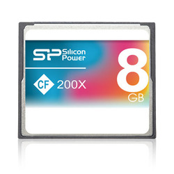 Silicon Power Compact Flash  8GB 200X Speed