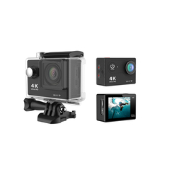 4K WiFi ActionCam Black